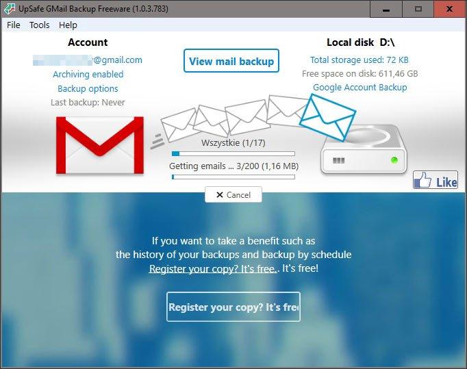2018 12 26 11h57 15 Tworzymy kopię zapasową poczty Gmail na dysku twardym