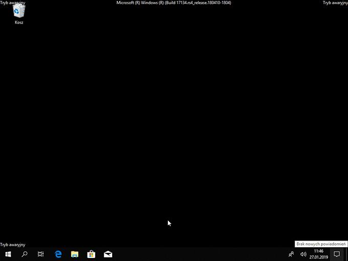 2019 01 27 11h57 13 Uruchamiamy Windows 10 w trybie awaryjnym