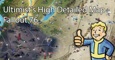 Fallout 76 Ultimist's High Detailed Map