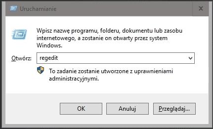 regedit Przywracamy automatyczne tworzenie kopii rejestru przez Windows 10