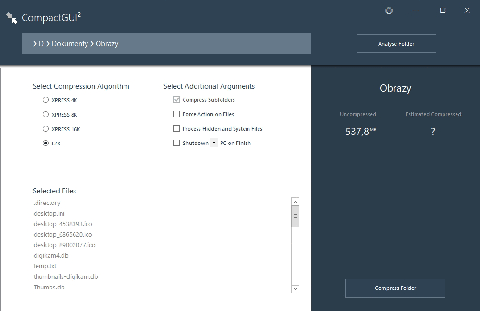 2019 02 18 22h36 26 Kompresujemy pliki i foldery za pomocą algorytmu LZX w Windows 10