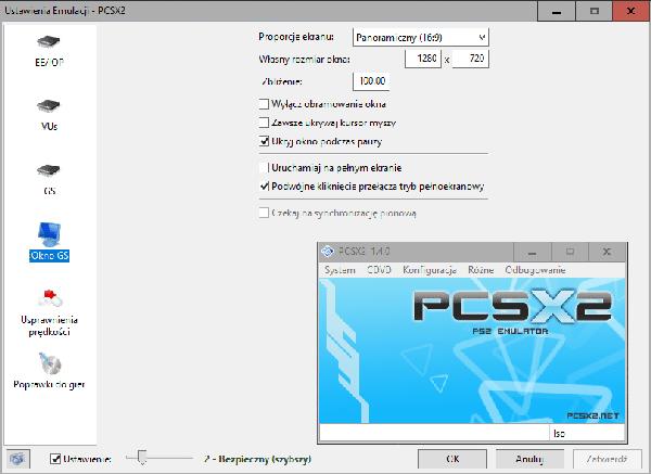 Bez nazwy 1 2 Gramy myszką i klawiaturą na emulatorze Playstation 2 (PCSX2)