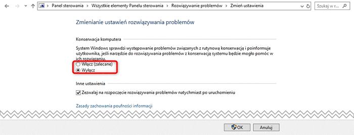 Bez nazwy 1 5 Wyłączamy automatyczną konserwację systemu Windows 10