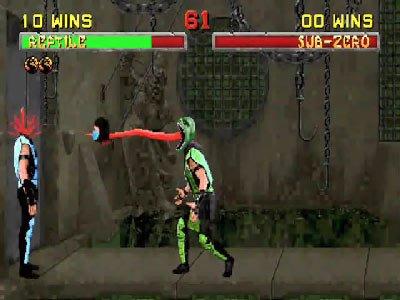 Mortal Kombat II Fatalities 0 00 41 966 Mortal Kombat II (1994) – lista ciosów
