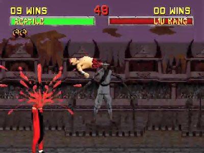 Mortal Kombat II Fatalities 0 00 46 105 Mortal Kombat II (1994) – lista ciosów