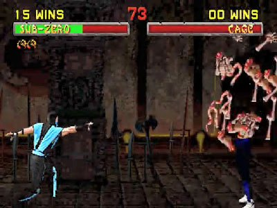 Mortal Kombat II Fatalities 0 00 59 492 Mortal Kombat II (1994) – lista ciosów