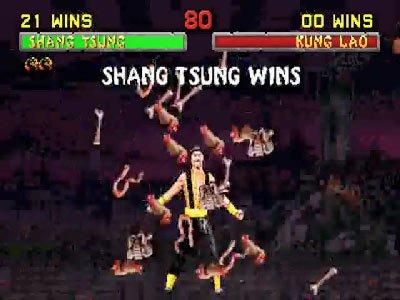 Mortal Kombat II Fatalities 0 01 15 719 Mortal Kombat II (1994) – lista ciosów