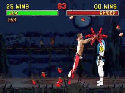 Mortal Kombat II Fatalities 0 01 42 155 Mortal Kombat II (1994) – lista ciosów