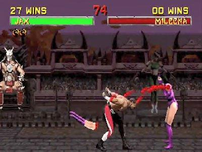 Mortal Kombat II Fatalities 0 01 49 765 Mortal Kombat II (1994) – lista ciosów