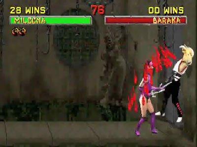 Mortal Kombat II Fatalities 0 01 54 244 Mortal Kombat II (1994) – lista ciosów
