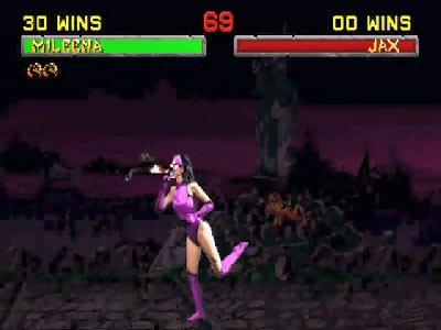 Mortal Kombat II Fatalities 0 02 02 024 Mortal Kombat II (1994) – lista ciosów