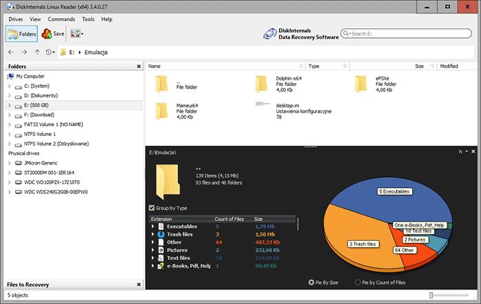 2019 03 13 14h19 03 Jak odczytać dane z dysków Ext4/Ext3 w systemie Windows