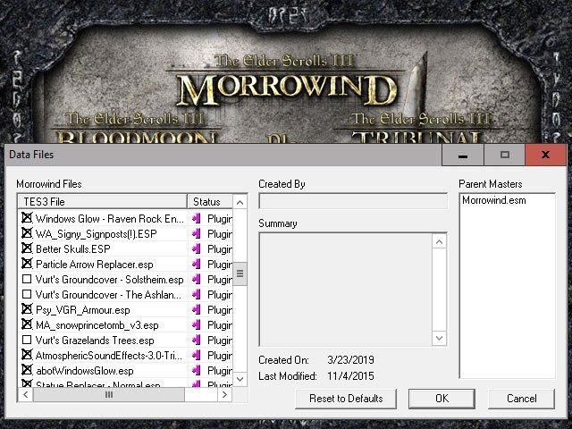 2019 03 23 10h08 04 Poprawiamy wygląd TES: Morrowind