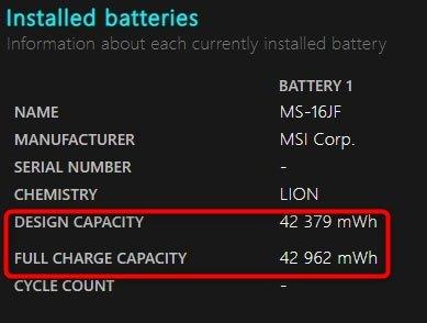 Bez nazwy 1 1 Najprostsza metoda na sprawdzenie zużycia baterii w laptopie