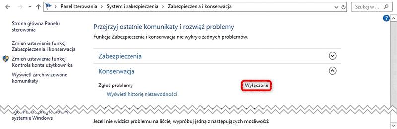 Bez nazwy 1 2 Jak wyłączyć raportowanie błędów w systemie Windows 10