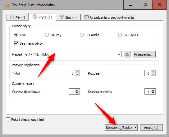 Bez nazwy 1 9 Dwie proste metody na zripowanie płyty DVD
