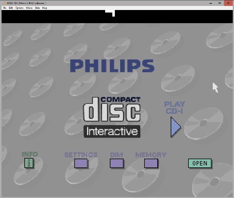 Zrzut ekranu 144 Emulujemy gry z Philips CD i (MESSUI)