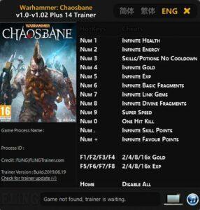 2019 06 21 15h18 25 286x300 Warhammer: Chaosbane – Trainer +14 v1.0 [FLiNG]