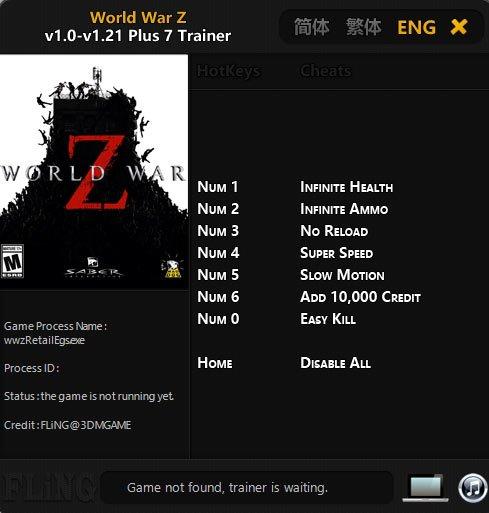 2019 07 08 18h06 50 World War Z: Trainer +7 v1.0 v1.21 [FLING]