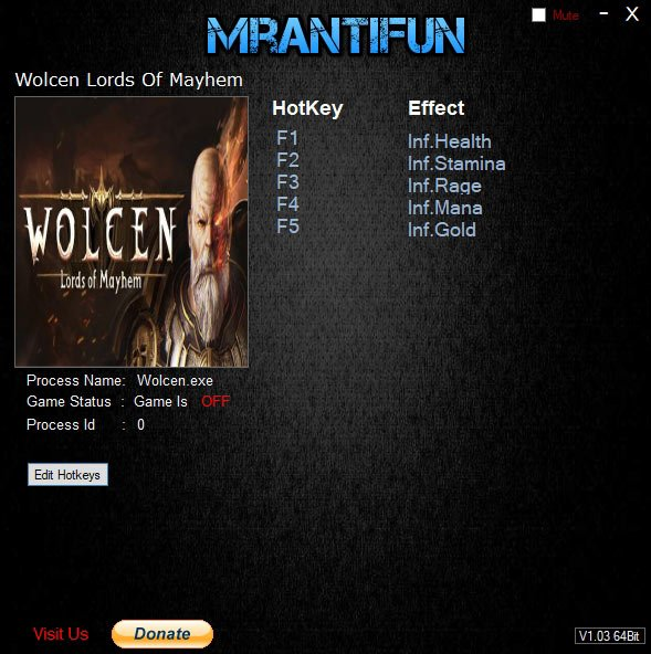 2019 07 23 15h55 57 Wolcen: Lords of Mayhem   Trainer +5 v1.1.4.0 [MrAntiFun]