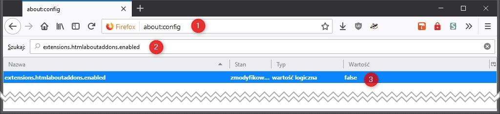 Bez nazwy 2 Jak przywrócić klasyczny wygląd strony dodatków w Mozilla Firefox