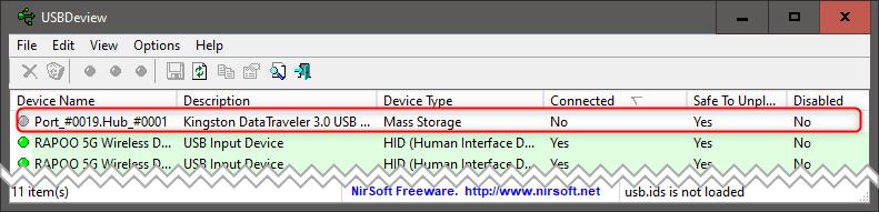 Bez nazwy 1 1 Diagnozujemy rozłączające się urządzenie USB