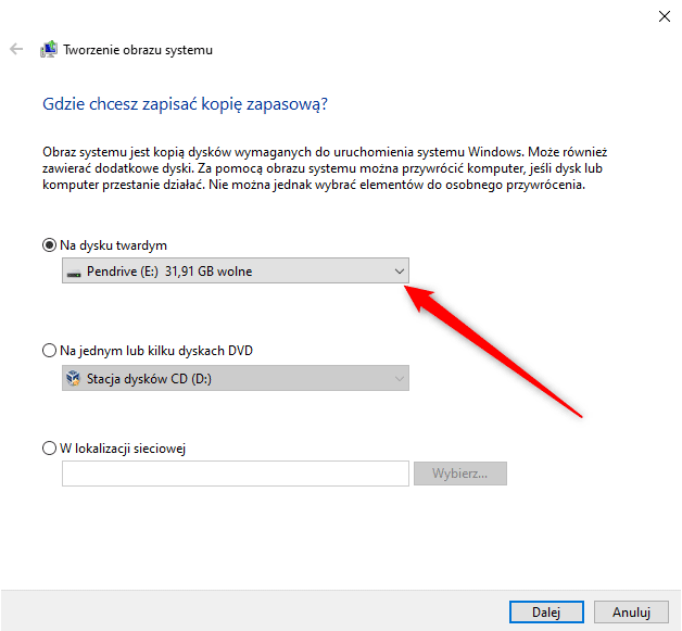 Bez nazwy 3 Przenosimy system Windows na nowy dysk.