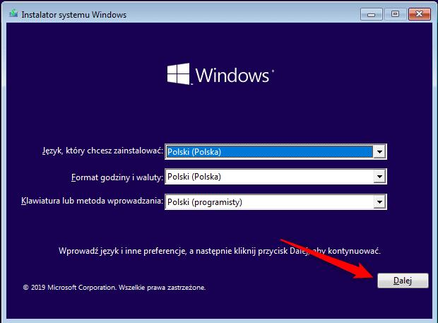 Bez nazwy 5 Przenosimy system Windows na nowy dysk.