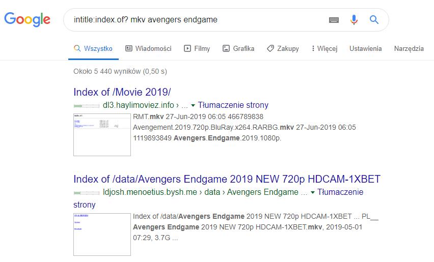 2019 09 01 11h39 00 Pobieramy dowolny film za pomocą... wyszukiwarki Google
