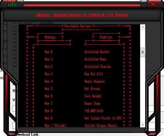 2019 09 05 15h41 35 The Elder Scrolls 5: Skyrim   Special Edition: Trainer +35 v1.5.80.0.8 [HoG]