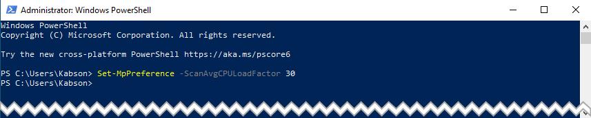 Bez nazwy 1 2 Jak ograniczyć użycie CPU przez Windows Defender