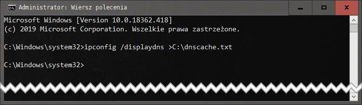 Bez nazwy 1 Jak usunąć cache DNS w systemie Windows