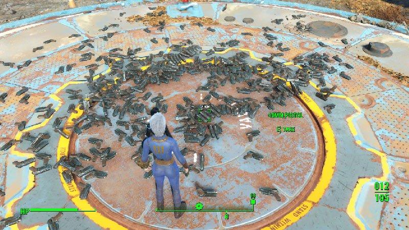 Zrzut ekranu 187 Jak zdobyć BaseID dowolnego przedmiotu w Fallout 4