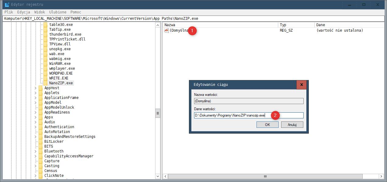 Bez nazwy 1 Jak dodać własny program do polecenia Uruchamianie w Windows