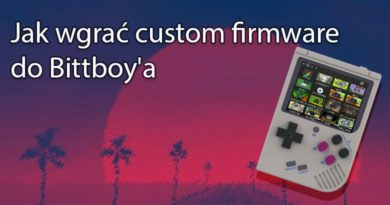 Jak wgrać custom firmware do Bittboy'a