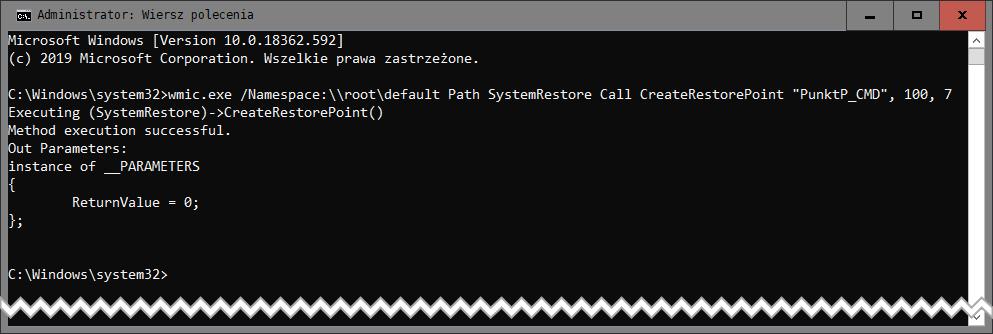 Bez nazwy 1 1 Jak manualnie stworzyć punkt przywracania systemu w Windows 10