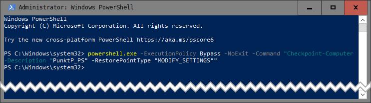 Bez nazwy 2 1 Jak manualnie stworzyć punkt przywracania systemu w Windows 10