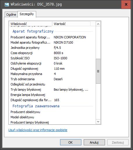 2020 04 06 13h12 15 Jak usunąć dane Exif z naszych zdjęć