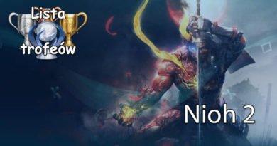 Trofea i osiągnięcia: Nioh 2