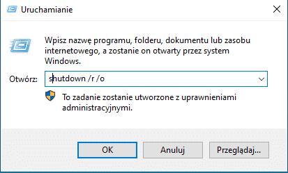 2020 05 06 14h36 24 Jak wyłączyć Środowisko odzyskiwania systemu w Windows 10