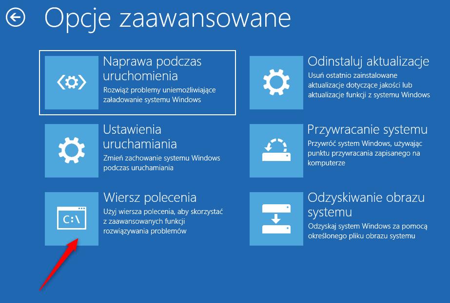 Bez nazwy 1 5 Jak zmusić Windows 10 do wyłączenia Przygotowanie automatycznej naprawy