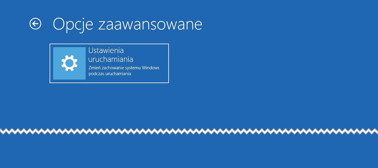 Bez nazwy 3 Jak wyłączyć Środowisko odzyskiwania systemu w Windows 10