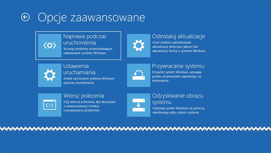 Bez nazwy 4 Jak wyłączyć Środowisko odzyskiwania systemu w Windows 10