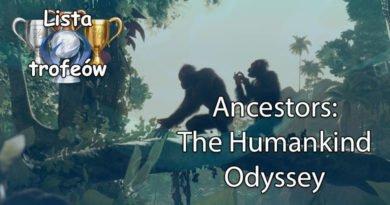 Trofea i osiągnięcia: Ancestors: The Humankind Odyssey