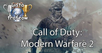 Trofea i osiągięcia: Call of Duty: Modern Warfare 2 Campaign Remastered