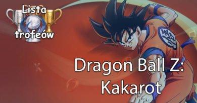 Trofea i osiągnięcia: Dragon Ball Z: Kakarot