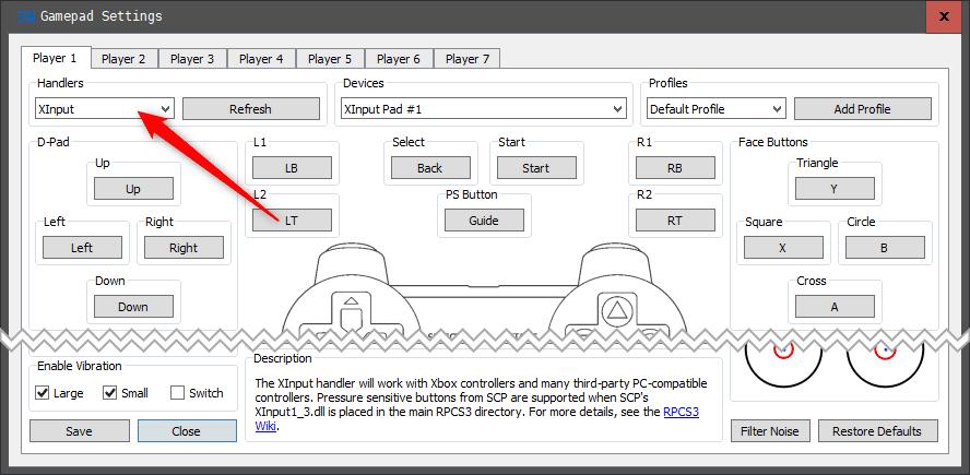 xinput Uruchamiamy gry z Playstation 3 na PC ! (RPCS3)