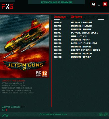 2020 07 27 22h12 08 JetsnGuns 2: Trainer +10 v1.0 [FutureX]