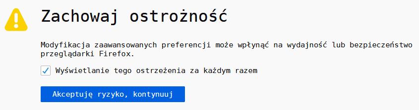 firefox ryzyko Jak włączyć WebRender w Mozilla Firefox ?