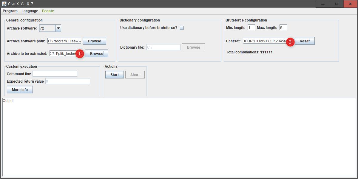 Bez nazwy 1 1 Jak złamać hasło w archiwum 7 zip/zip ?